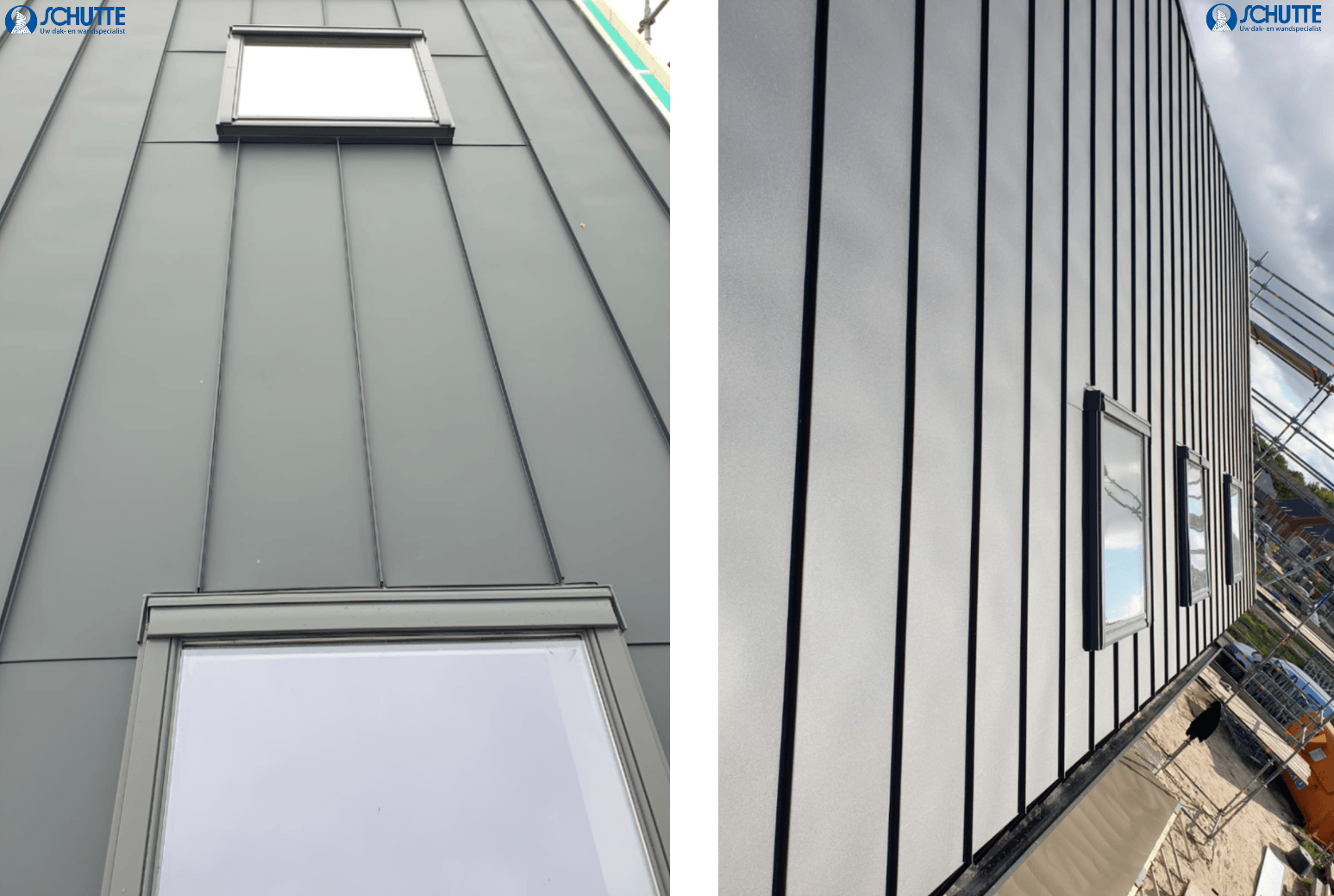 montage felsbanen nieuwbouwproject norg